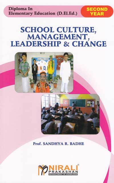 School Culture, Management, Leadership and Change - Second Year Diploma in Elementary Education