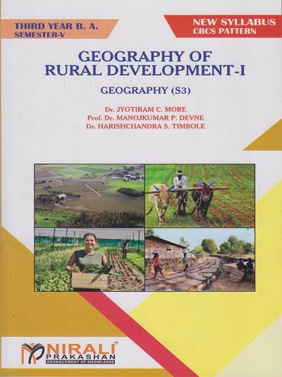 Geography of Rural Development 1 - TY BA Sem 5