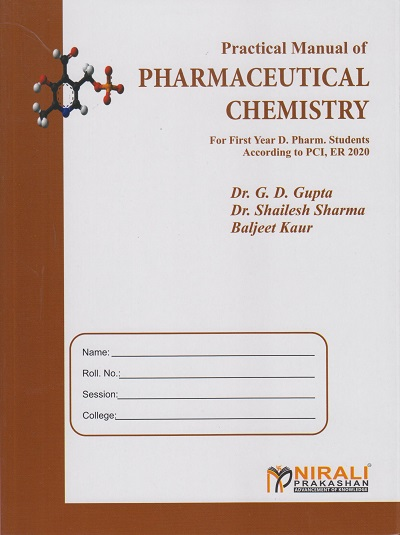 PRACTICAL MANUAL OF PHARMACEUTICAL CHEMISTRY