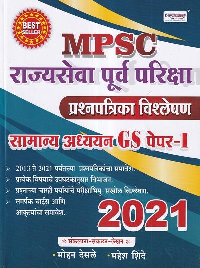 MPSC राज्यसेवा पूर्व परीक्षा