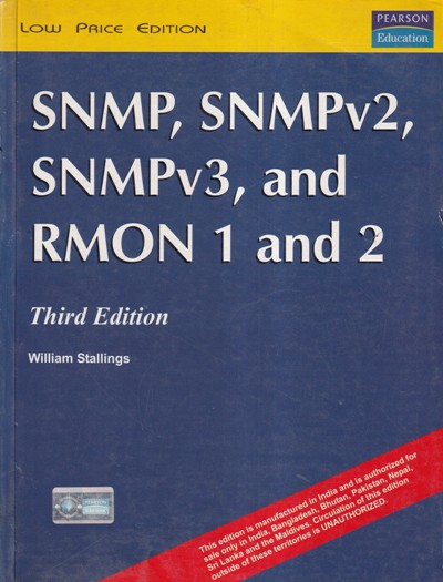 SNMP SNMPV2 SNMPV3 AND RMON 1 AND 2- WILLIAM STALLINGS