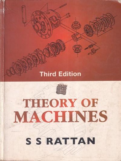 THEORY OF MACHINES - S. S. RATTAN